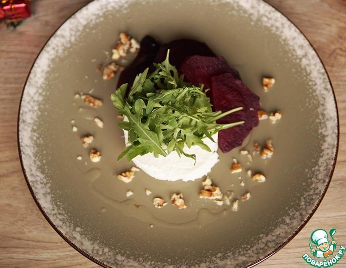 Рецепт: Городской салат со свеклой