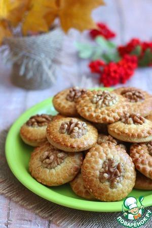 Домашнее печенье Пчёлка Орехи грецкие