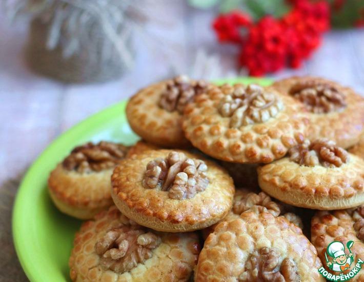 Рецепт: Домашнее печенье Пчёлка