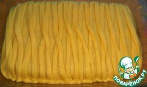 Песочный пирог с яблочной начинкой Разрыхлитель теста