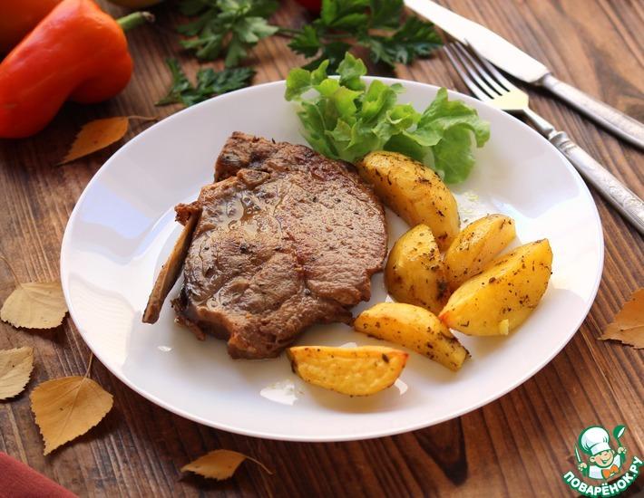 Рецепт: Мясо по-домашнему