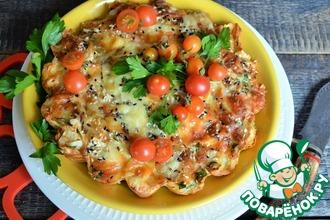 Рецепт: Рваный пирог из лаваша