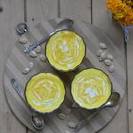 Тыквенно-творожный десерт