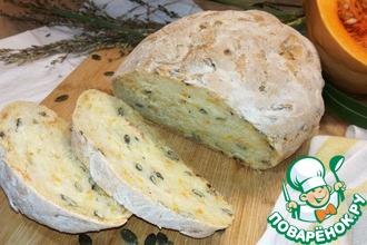 Рецепт: Домашний хлеб с тыквой