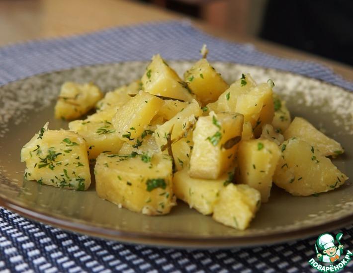 Рецепт: Сливочный картофель