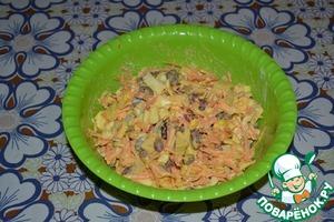 Салат Француженка Морковь