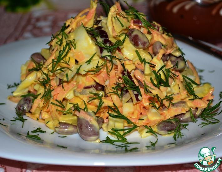 Рецепт: Салат Француженка