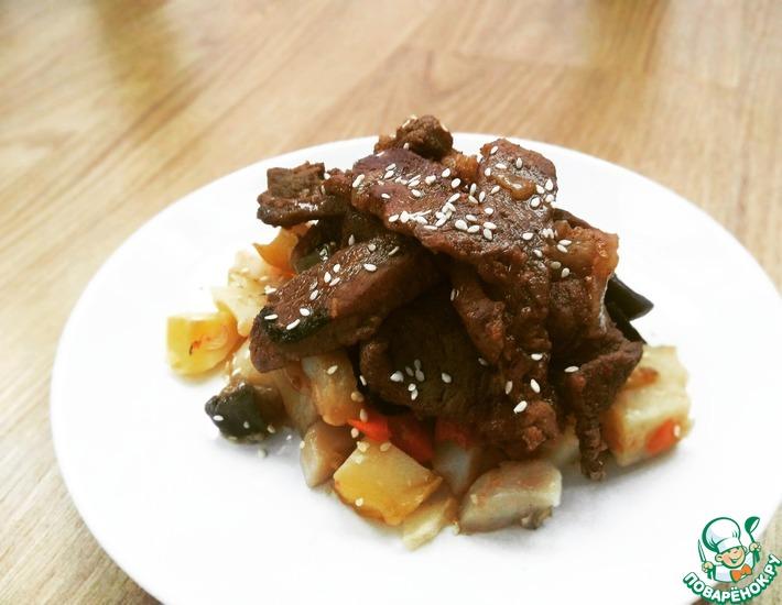 Рецепт: Свинина по-корейски