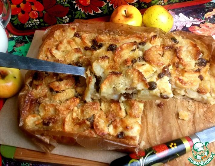 Рецепт: Итальянский яблочный пирог