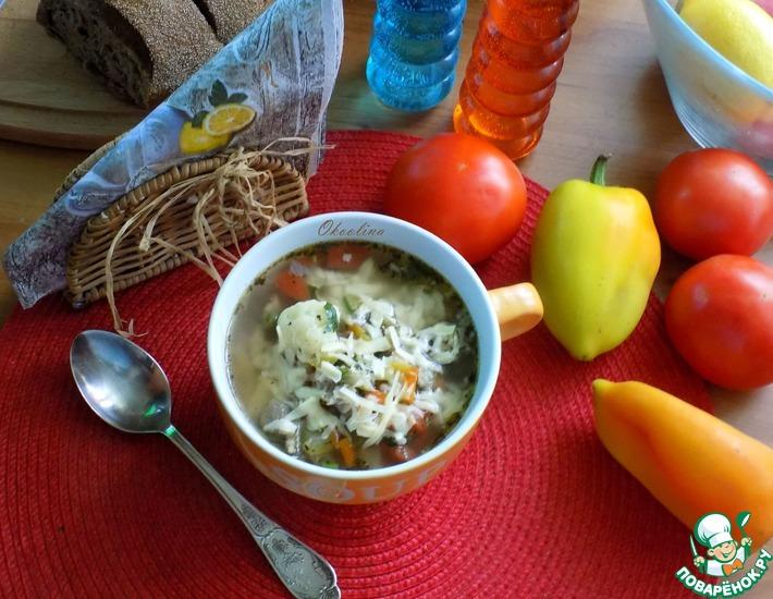 Рецепт: Минестроне с сезонными овощами и беконом