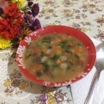 Фасолевый суп по-кабардински