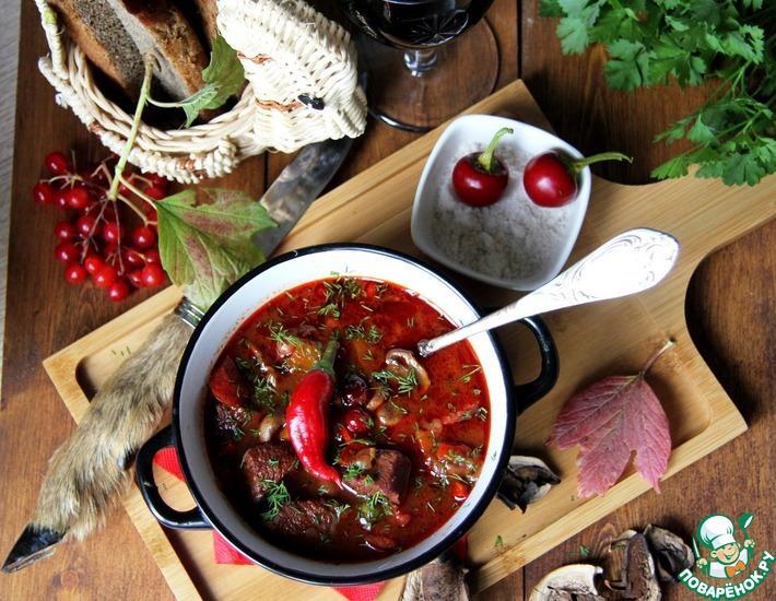 Рецепт: Охотничий суп