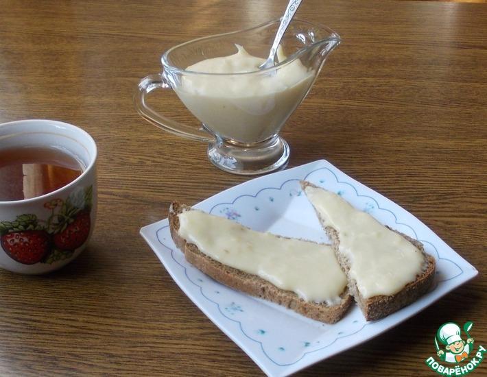 Рецепт: Плавленый сыр на сковороде