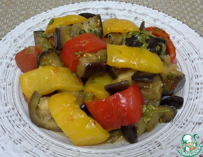 Рецепт: Соте из овощей