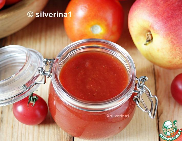 Рецепт: Кетчуп из томатов и нектаринов