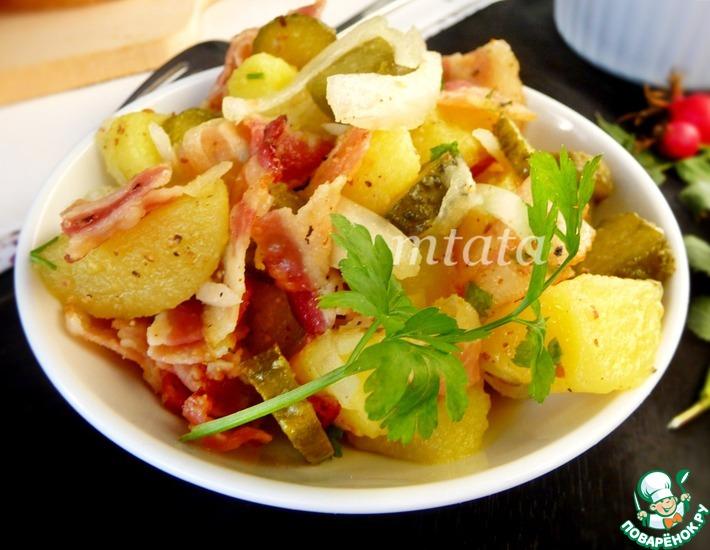 Рецепт: Американский картофельный салат