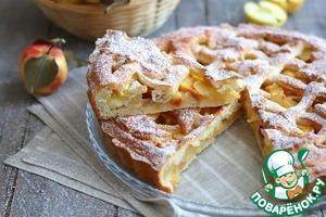 Бездрожжевой яблочный пирог Яйцо куриное