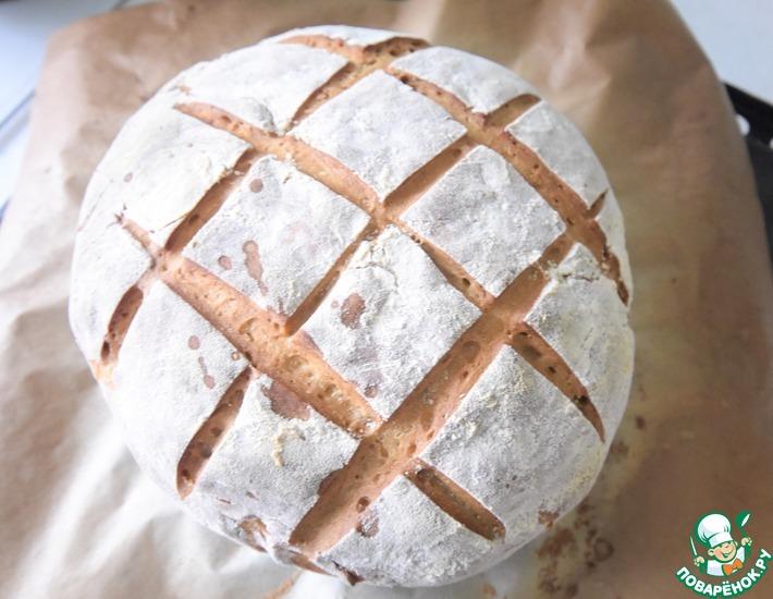 Рецепт: Домашний хлеб