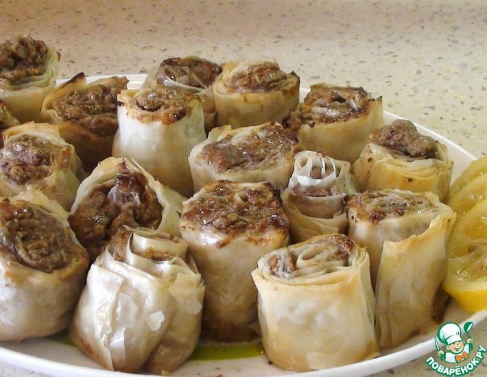 Рецепт: Восточная сладость Гюль пита