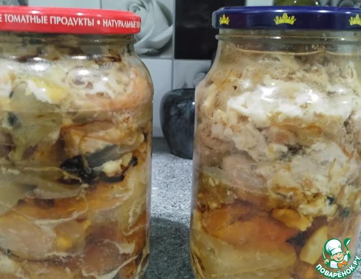 Рецепт: Тушенка домашняя из свинины