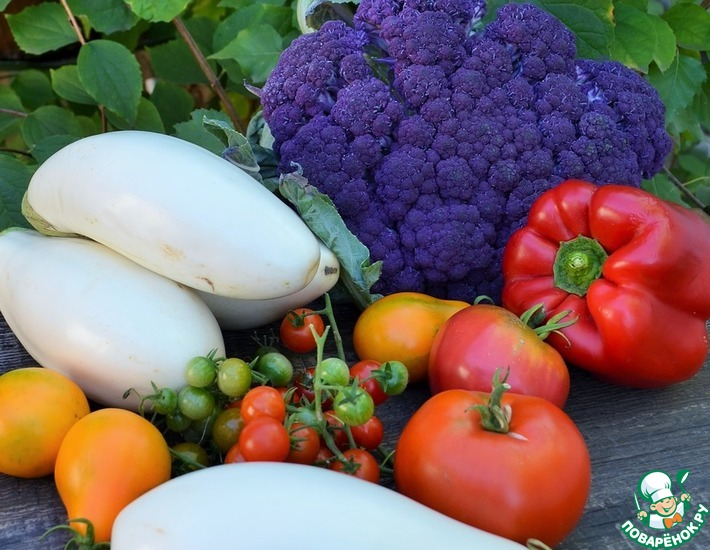 Попутное запекание овощей