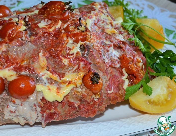 Рецепт: Томатно-чесночная свинина