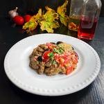 Салат с баклажанами «Домашний»