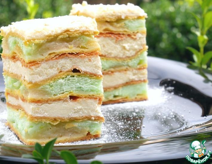 Рецепт: Необычный торт Наполеон