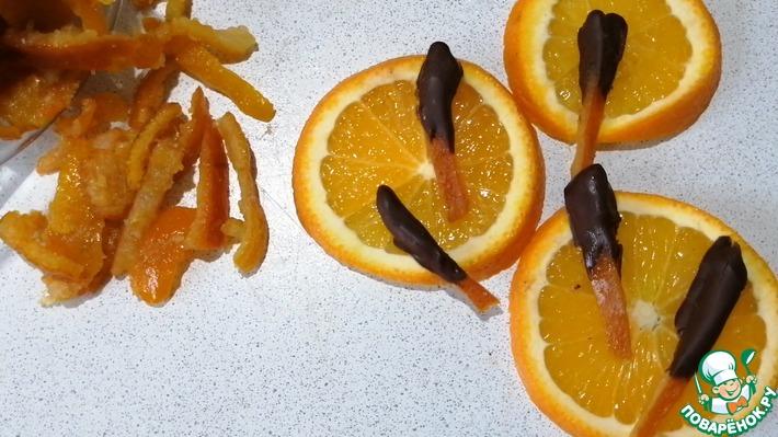 Цукаты из цитрусовых корок