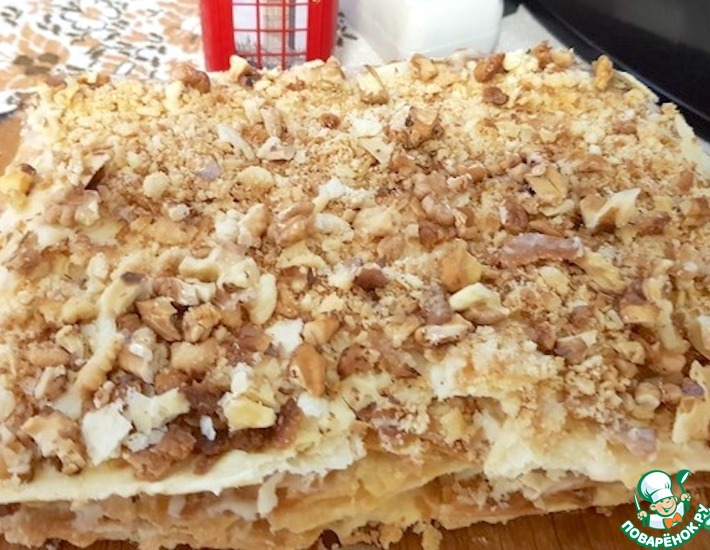 Рецепт: Торт Наполеон