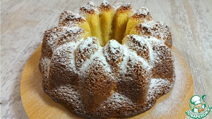 Простой рецепт вкусного кекса со сливками