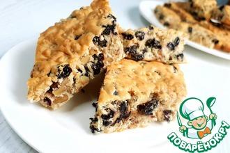 Рецепт: Печенье с орехами Польская мазурка