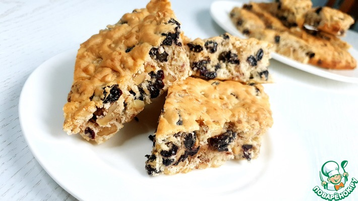 Печенье с орехами-Польская Мазурка