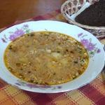 Куриный суп Пилешка чорба
