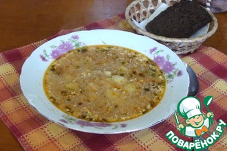 Рецепт: Куриный суп Пилешка чорба