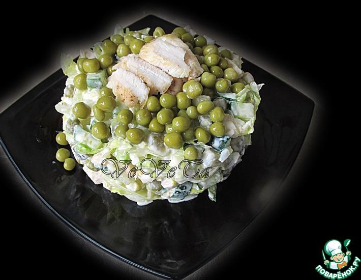 Рецепт: Русский салат Ивлевье