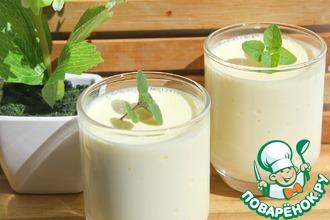 Рецепт: Десерт Молочный шелк