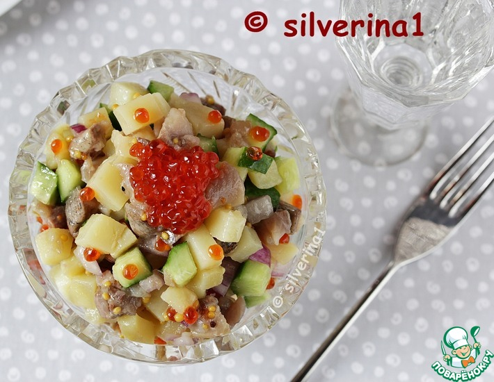 Рецепт: Салат Ерундопель