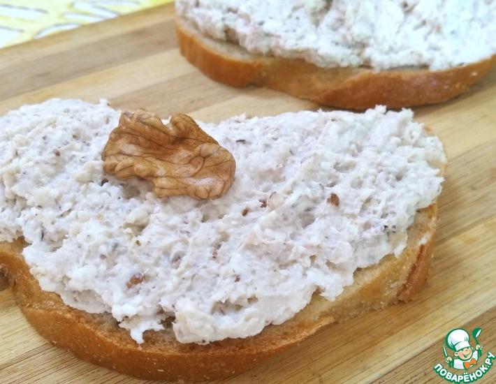 Рецепт: Паштет из куриного филе и сыра