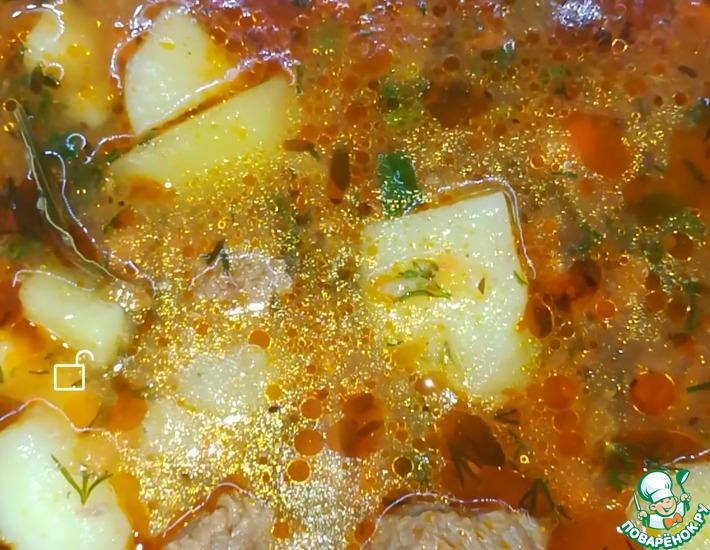 Рецепт: Тушеный картофель с говядиной