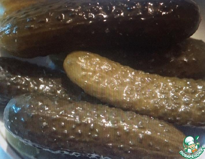 Рецепт: Соленые огурцы