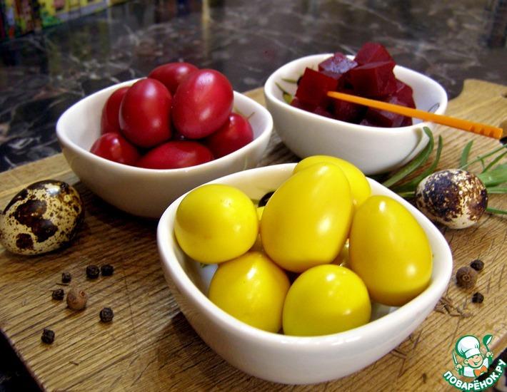 Рецепт: Маринованные перепелиные яйца