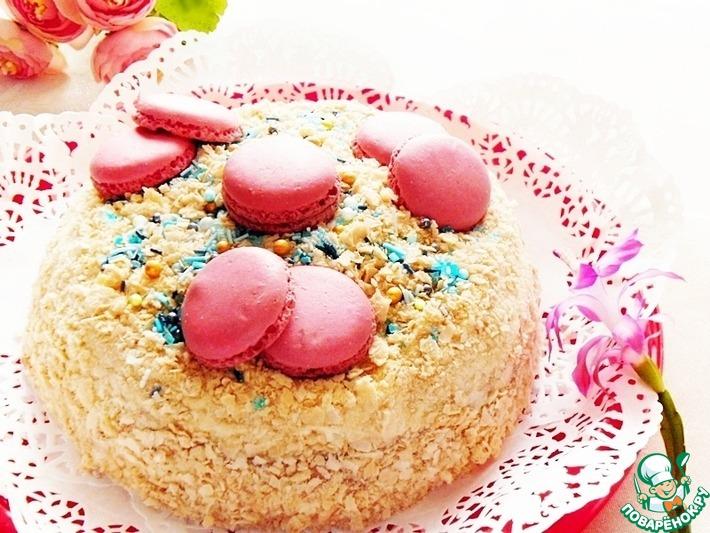 Торт блинный по-домашнему