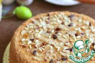Рецепт: Торт домашний Карамельный