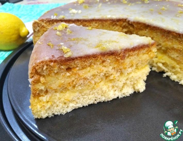 Рецепт: Торт Лимончелло