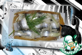 Рецепт: Маринованная салака Сборная
