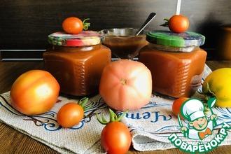 Рецепт: Кетчуп на зиму из томатного сока