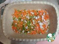 Курица, запеченная на булгуре под сыром ингредиенты
