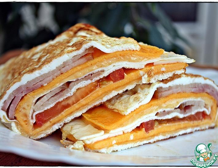 Рецепт: Многослойный завтрак