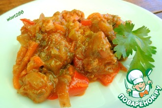 Рецепт: Ароматное овощное рагу
